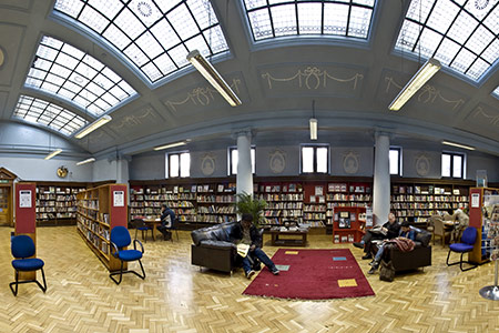 Bethnal Green Library London's Most Beautiful Libraries