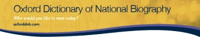 Oxford Dictionary of National Biography logo link
