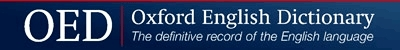 Oxford English Dictionary Online logo link