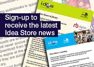 sign up for the latest idea store news