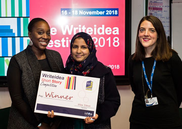 Farhana Akhter - Idea Store Learner Winner