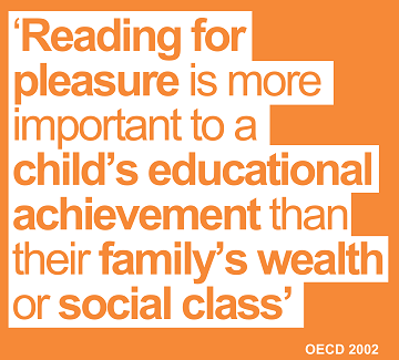 reading for pleasure is more important to a child's educational achievement than their familys wealth or social class