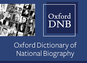 oxford dictionary of biography icon